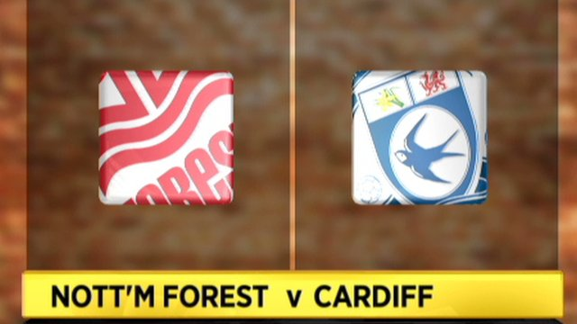 Nottm Forest 0-1 Cardiff