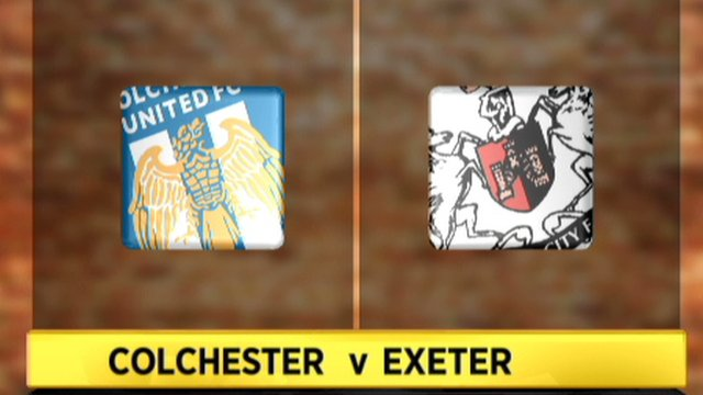 Colchester 2-0 Exeter