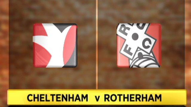 Cheltenham 1-0 Rotherham