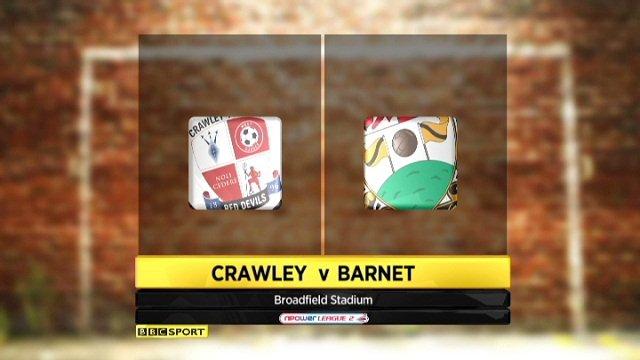 Crawley 1-0 Barnet