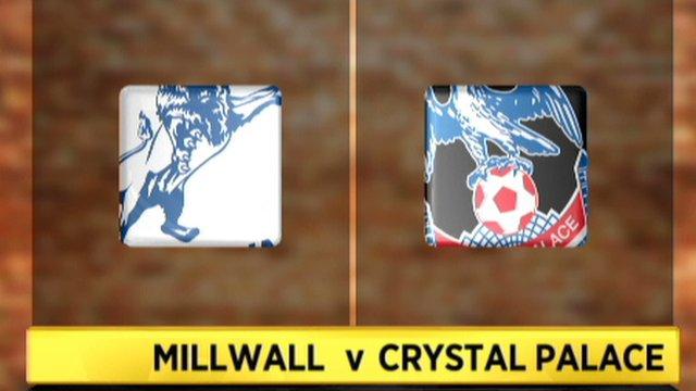 Millwall 0-1 Crystal Palace
