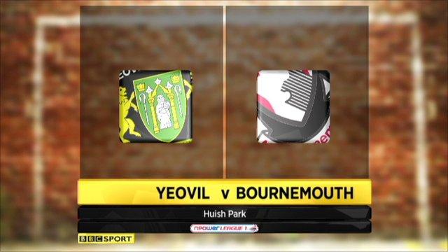 Yeovil 1 - 3 Bournemouth