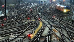 General view of railway at Clapham Junction