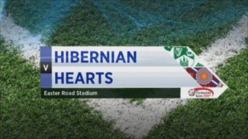 Hibernian v Hearts