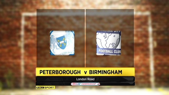 Peterborough 1-1 Birmingham