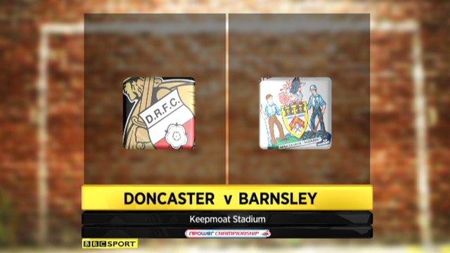 Highlights - Doncaster 2-0 Barnsley