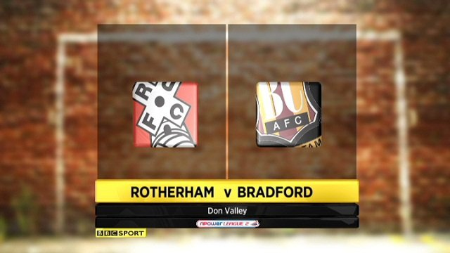 Rotherham 3-0 Bradford
