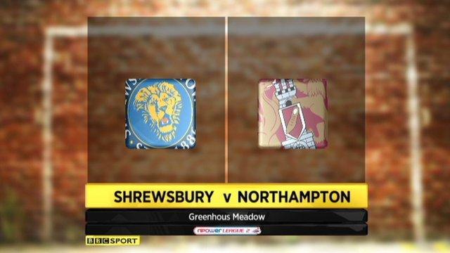 Shrewsbury 1-1 Northampton