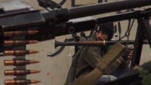 Armed rebels