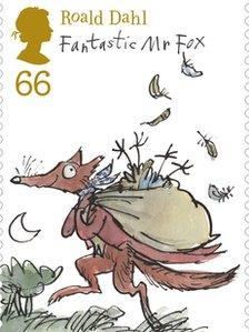 Stamp Fantastic Mr fox