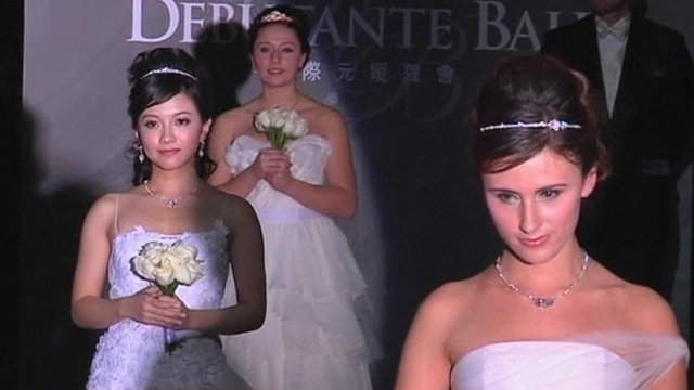 Shanghai debutantes