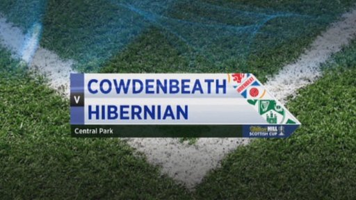 Cowdenbeath v Hibernian
