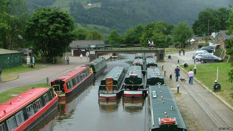 Hotels Near Llangollen Canal