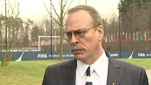 Fifa head of security Chris Eaton
