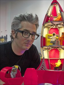 Makerbot chief executive Bre Pettis