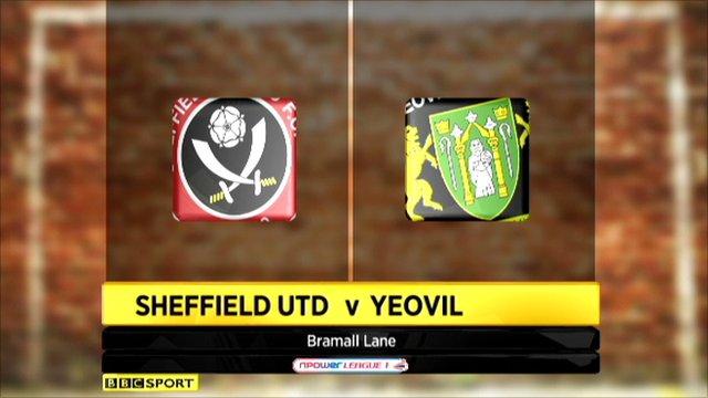 Sheffield Utd 4-0 Yeovil