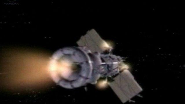 Mars probe Phobos-Grunt