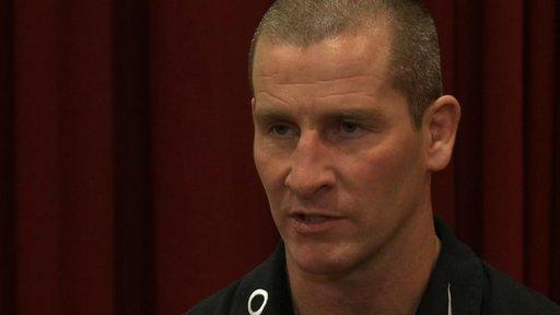 Stuart Lancaster - England interim head coach