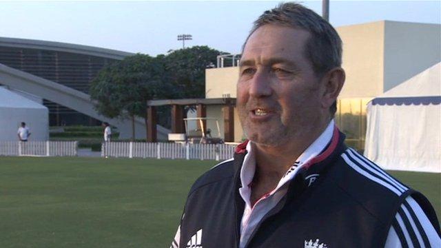 England batting coach Graham Gooch
