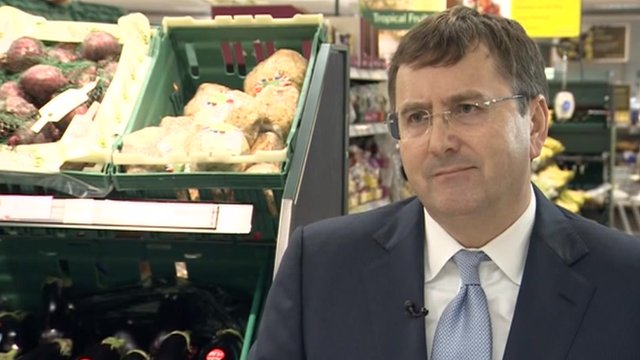 Tesco chief executive, Philip Clarke