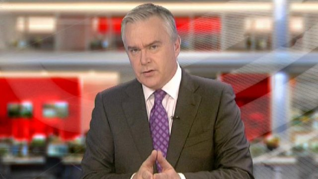 BBC newsreader Huw Edwards goes back to basics as he explores the concept of what makes something news.