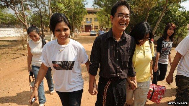 Freed political prisoner