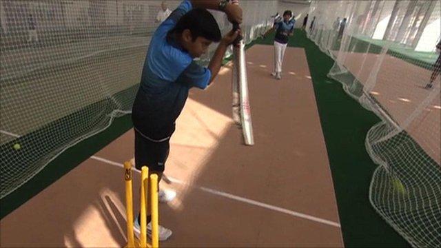 International Cricket Council's cricket Academy in Dubai