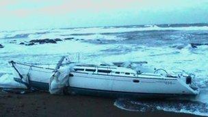 Yacht skippered by Alasdair Crawford