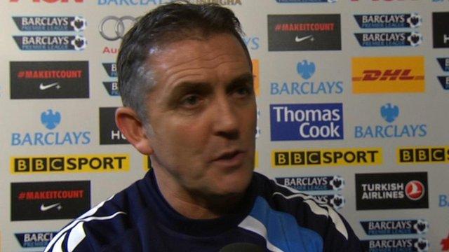 Bolton boss Owen Coyle