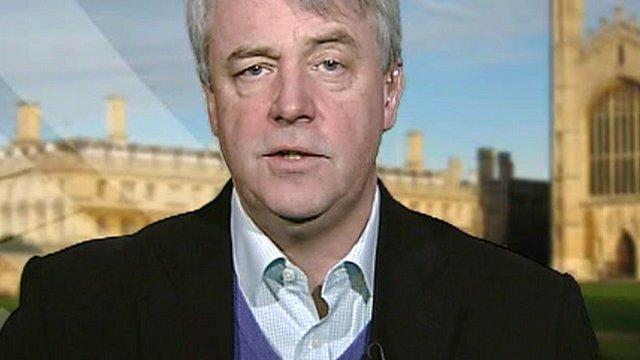 Health Secretary Andrew Lansley