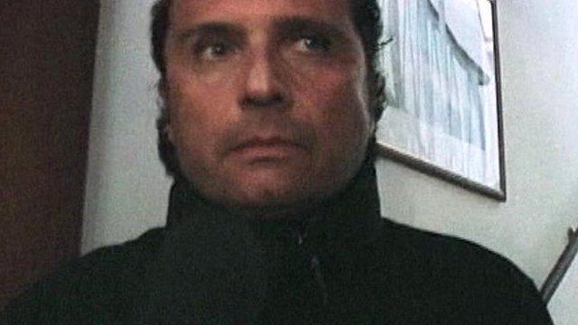 Ship's captain Francesco Schettino