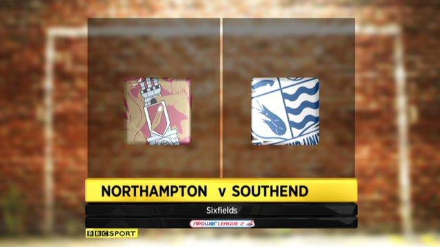 Northampton 2-5 Southend