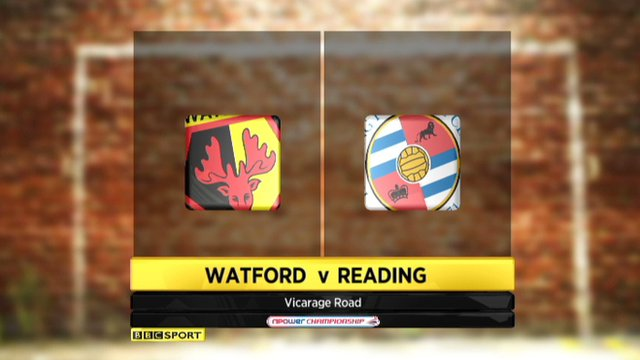 Highlights - Watford 1-2 Reading