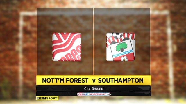 Highlights - Nottingham Forest 0-3 Southampton