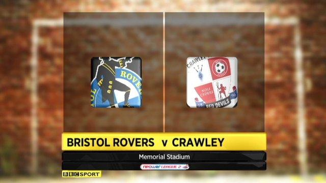 Bristol 0-0 Crawley
