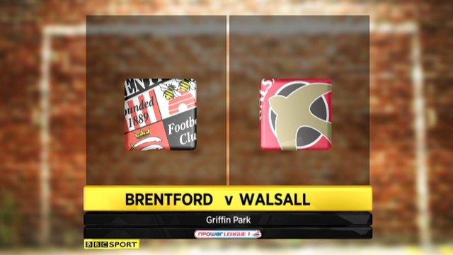 Highlights - Brentford 0-0 Walsall