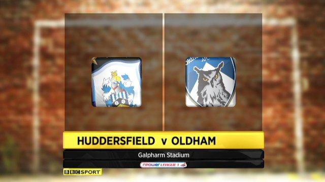 Highlights - Huddersfield 1-0 Oldham