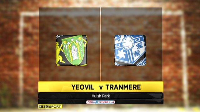 Highlights - Yeovil 2-1 Tranmere