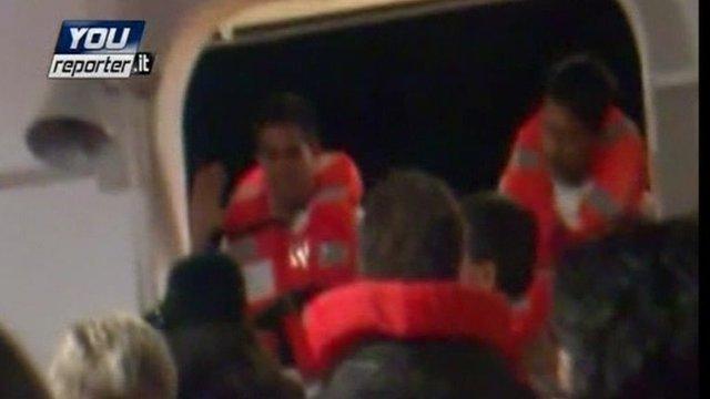 Passengers on the Costa Concordia