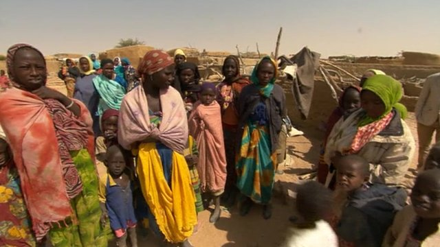 Refugees in eastern Chad