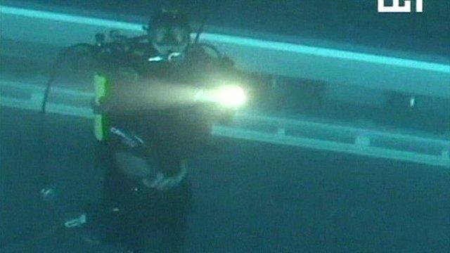 Underwater diver