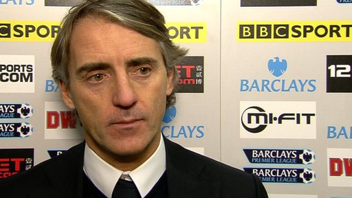 Roberto Mancini - Man City manager