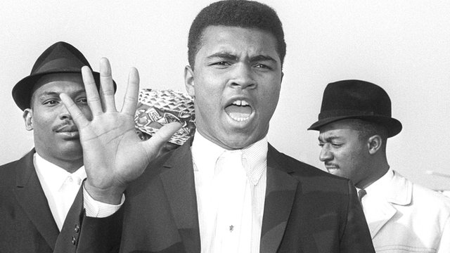 Cassius Clay in 1963