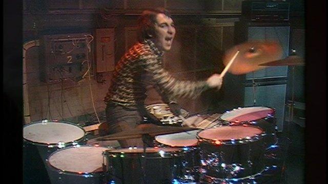 Kenney Jones, drummer The Faces