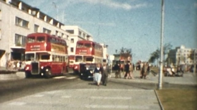 Plymouth's Royal Parade in the 1960s