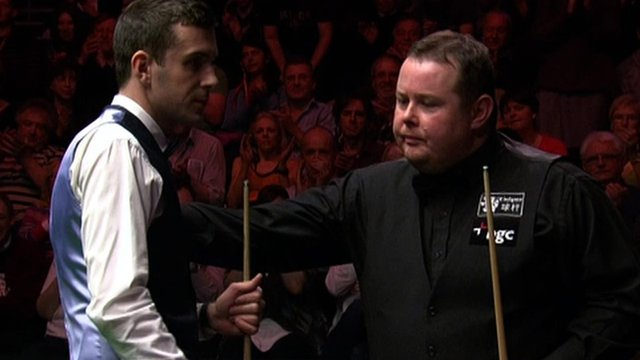 Mark Selby defeats Stephen Lee