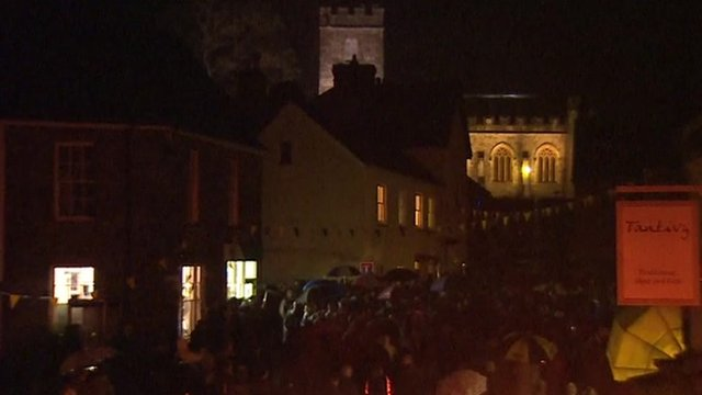 Dulverton switching off its lights
