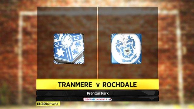 Tranmere 0-0 Rochdale