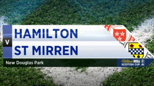 Scottish Cup - Hamilton 0-1 St Mirren