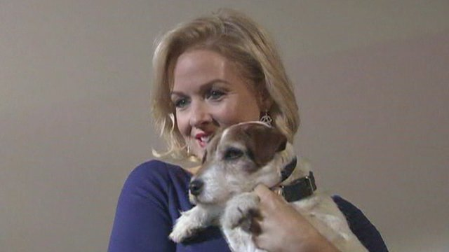 Uggie and Penelope Ann Miller
